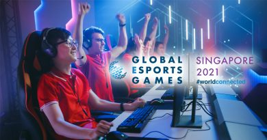 Singapore to host the inaugural Global Esports Games and welcome over 400 international players in December 2021